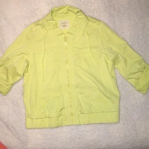 Light Yellow Jacket